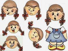 Costuma trabalhar as emoções no seu jardim de infância?   Na verdade, no meu pouco tempo de serviço trabalhei uma vez com um jogo de cartõe...