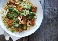 Quinoa Pilaf Broccoli