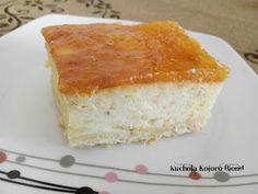 Kuchnia Koloru Blond: Sernik pomarańczowy Vanilla Cake, Blond