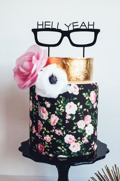 19 Wedding Cake Toppers + Festive Party Decor