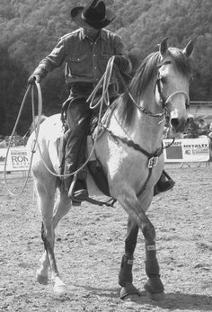Good Luck to my favorite roper, my Sexy Cowboy at the World Series of Roping! You've already made me so proud. I love you and can't wait till you get back! ♡