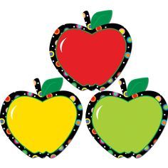 Apples Bulletin Board Cut Out