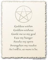 *Goddess within*