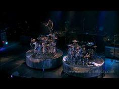 Godsmack singer Sully Erna and Drummer Shannon Larkin have a nice little drum battle live taken from their Changes documentary.