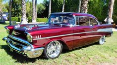 1957 Chevrolet Bel Air Pro Touring - 1 - Print Image