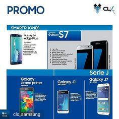 Via @clx_samsung - Acércate a nuestras tiendas para que seas testigo de las promos que tenemos para ti! Smartphones Samsung con increíbles características estarán en promoción tan solo por este fin de semana  #Regrann #llaverotec #blogger