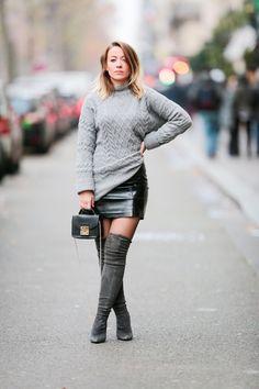 Amelie Lloyd street style in Paris