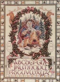teresa wentzler cross stitch designs | ... Santa Claus Teresa Wentzler - Counted Cross Stitch Pattern Chart