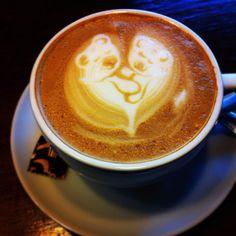 #coffee #latteart #bears <3