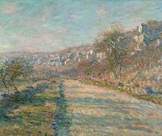 Road of La Roche-Guyon, 1880. Claude Monet