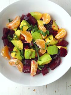 From Rustic Feast: A Paleo Journey, Beets and Mandarine Salad