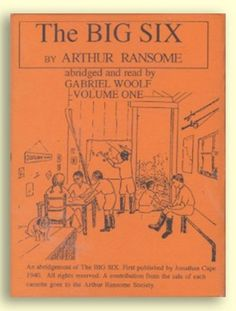 Arthur Ransome First Edition and Collectable Books Arthur Ransome, Swallows And Amazons, Big Six, Cassette Tape, Book Collection, Audio, Books, Libros, Book