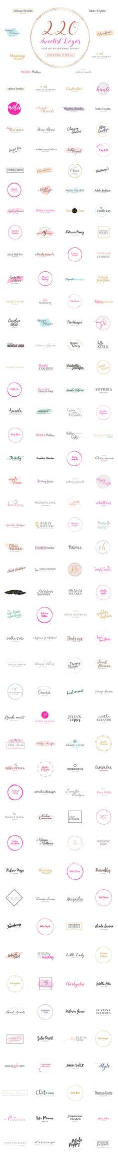 Best Selling GIRLBOSS Logo Creator by SNIPESCIENTIST on @creativemarket