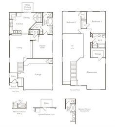 Cypress Texas Floor Plans Kitchen Middle