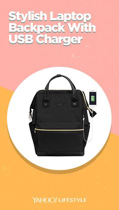 KROSER Laptop Backpack Inch Stylish School Computer Backpack Doctor Bag Water Repellent College Casual Daypack with USB Port Travel Business Work Bag for Men/Women-Black Computer Backpack, Laptop Bag, College Casual, School Computers, Busy At Work, Business Travel, Mother Day Gifts, Credit Cards, Fashion Backpack