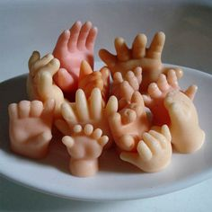 handsoap, kinda creepy, can't wait to make some. - get the mold done & practice color