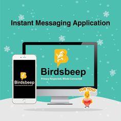 BirdsBeep Multiplatform Chat Application is now