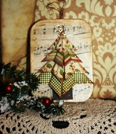 Folded Christmas Tree--Love it!