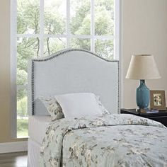Modway Curl Twin Nailhead Upholstered Headboard