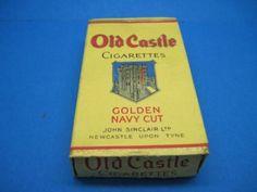 Vintage-Old-Castle-Golden-Navy-Cut-Cigarettes-LIVE
