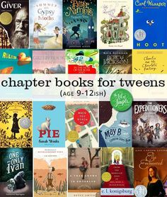 Chapter books for Tweens.