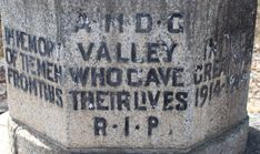 BLESKOP MEMORIAL, near Franschhoek, Western Cape, South Africa – The Palmer Report
