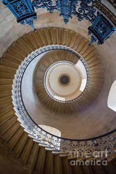 This spiral staircase is a great example of radial balance, It goes on and on in a circular motion shows that it comes from one point of origin, in the center Elements And Principles, Elements Of Design, Radial Balance, Thing 1, Staircase Design, Circle Shape, Stairways, Art For Sale, Fine Art America