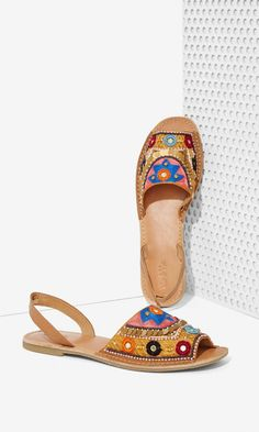 Your summer sandal game is about to be on point.