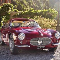 Stunning Maserati A6-G 2000 Zagato coupè from 1955