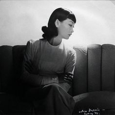 Max Dupain - Asian Woman Seated On Lounge],  Sydney, 1939 1