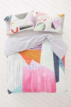 Agnes Colorblock Duvet Cover