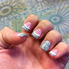 My sophomore prom nails 