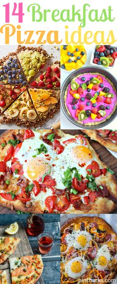 14 Breakfast pizza i