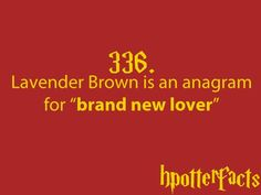 Image via We Heart It https://weheartit.com/entry/80162796/via/13802995 #harrypotter #hermionegranger #hp #ronweasley #lavenderbrown #brandnewlover #hpotterfacts