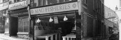travels with my aunt graham greene Mac Fisheries shops - MacFisheries - Mac Markets - Unilever - wet Fish - HOMEPAGE Graham Greene, Aunt, Nostalgia, Mac, Childhood, Shops, Fish, Marketing, Awesome