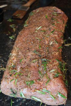 rosemary pork tenderloin