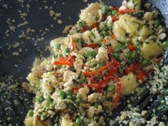 Pineapple Cashew Quinoa Stir Fry from the Veganomicon. One of my favorites!!
