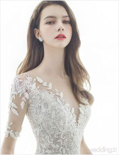 6 Beautiful Wedding Dress Trends in 2020 Weeding Dress, Dream Wedding Dresses, Bridal Dresses, Wedding Gowns, Prom Dresses, Princess Ball Gowns, Bride Gowns, Bridal Fashion Week, Bridal Style