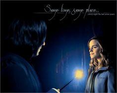 Hermione & Severus Photo: Same time, Same place