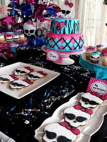 Cupcake's house: Monster High Party