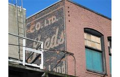 This Seeds sign at Northern Street and Western Street was still visible as of Photo courtesy of Heritage Vancouver. Bakery Sign, Vintage Signs, Vancouver, Westerns, Seeds, Community, Street, Vintage Plates