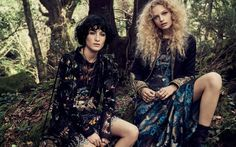 Etro sets fall-winter 2016 campaign in woods