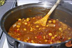 Moroccan roasted tomato and chickpea stew [Amuse Your Bouche]