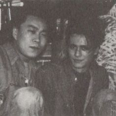 Atsushi with Tā-chan #friendfriday #bucktick #バクチク #atsushisakurai #桜井敦司 #櫻井敦司 #ロック仲間