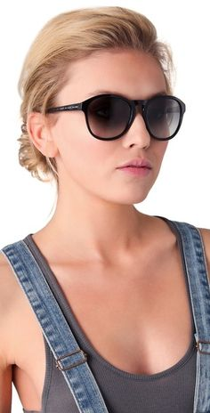 Marc by Marc Jacobs Round Sunglasses  $110  summer 2013