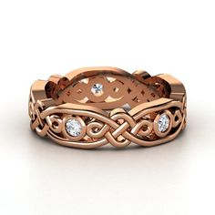 rose gold. site has very lovely rings. would be even better though if they had opals :)