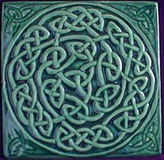 #celtic knot #celtic #tile
