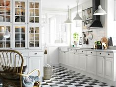 Love the look of this IKEA Kitchen