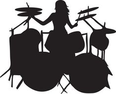 clip_art_silhouette_of_a_woman_playing_a_drum_set_0071-0907-1821-3305_SMU.jpg (300×244)