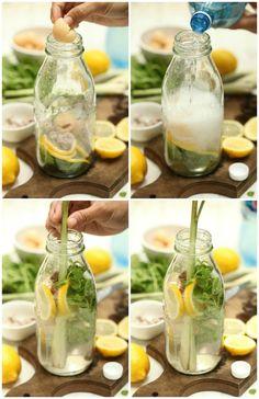 Soda Herb sedapnya.. segar dan nyaman.. - masam manis Healthy Juice Drinks, Healthy Juices, Ballet Diet, Thai Tea, Healthy Herbs, Cooking Recipes, Healthy Recipes, Infused Water, Turmeric